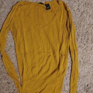 Victoria's secret light ribbed sweater
